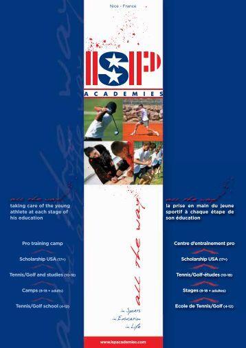 Chemise 3 volets ISP:Mise en page 1 - StadLine