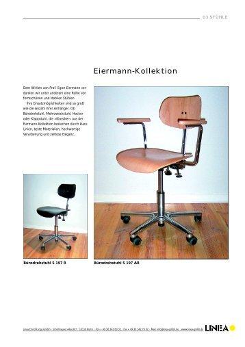 Eiermann-Kollektion - Linea