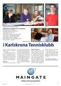 Första spadtaget på gräsbanorna - Karlskrona Tennisklubb - Page 5