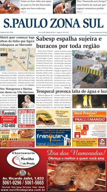 Sabesp espalha sujeira e buracos por toda região - Jornal São ...