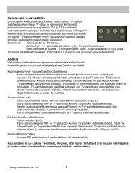 Universaali kaukosäädin Asetus - LA Digital