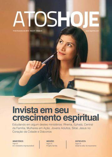 Atos Hoje Edição 6 - Lagoinha.com