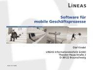 LINEAS insight 2003 mca-Allgemein