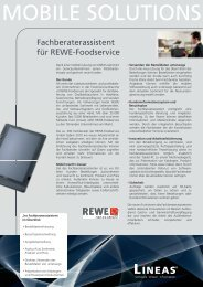 Download REWE Foodservice Success-Story - Lineas