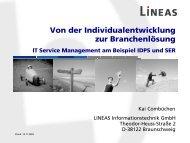 Change Management - Lineas