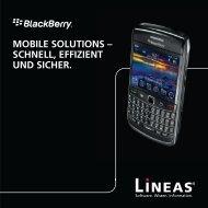 Success Story BlackBerry - Lineas