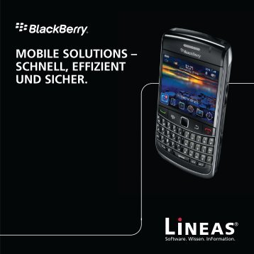 Success Story BlackBerry - Lineas