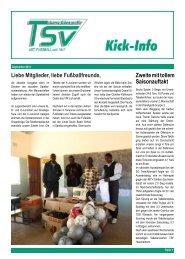 Ausgabe September 2012 - fussball@tsvlanggoens.de - TSV Lang ...