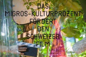 Broschüre Filmförderung - Migros-Kulturprozent
