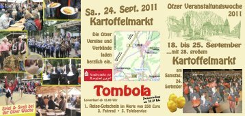 Kartoffelmarkt Kartoffelmarkt - Burgdorfer Umschau