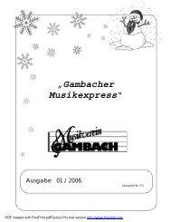 Musikexpress_01_2006.pdf - musikverein-gambach