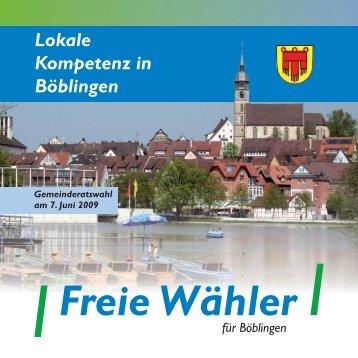 Unsere Kandidaten für Böblingen - Freie Wähler Böblingen