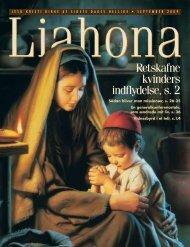 September 2009 Liahona - Jesu Kristi Kirke af Sidste Dages Hellige