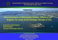 Characterization of Wilmington Graben, Offshore Los Angeles, for ...