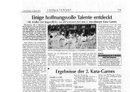 zum Zeitungsbericht Moosburger Zeitung - SGM Moosburg Abt. Karate