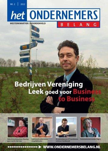 Bedrijven Vereniging Le goed voor Business - Het ...