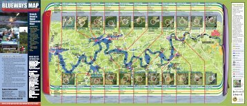 Blueways Map - Outdoor Knoxville