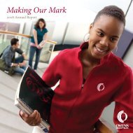 Making Our Mark - Owens Community College