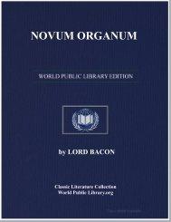 NOVUM ORGANUM - World eBook Library