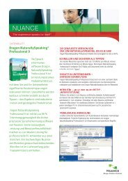 Dragon NaturallySpeaking® Professional 9 - Computer für Behinderte