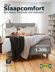 IKEA Slaapcomfort 2013 NL