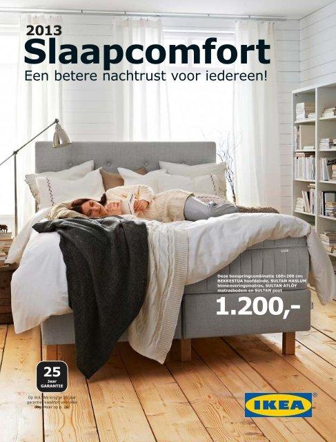 Sultan Tafjord Dekmatras Ikea.Ikea Slaapcomfort 2013 Nl