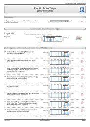 Evaluation-WS12-13-Gesellschaftsrecht - Goethe-Universität