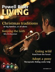Christmas traditions p for... - Powell River Living