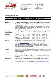 Ausschreibung Schirikurs2010