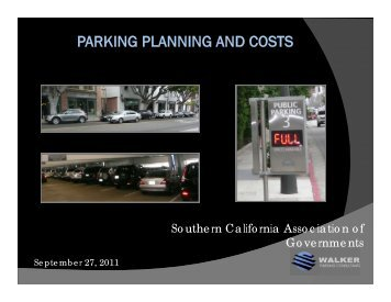 Parking Planning & Costs - Steffen Turoff - Compass Blueprint