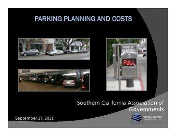 Parking Planning & Costs - Steffen Turoff - Compass Blueprint