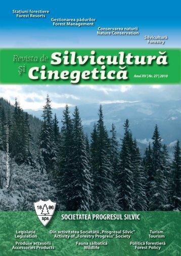 Certificarea pădurilor - Societatea Progresul Silvic