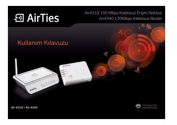 Kullanım Klavuzu - Turk.Net ADSL