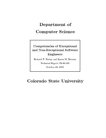 Competencies of Exceptional and Non-Exceptional Software ...
