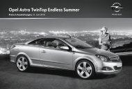 Opel Astra TwinTop Endless Summer - Opel-Infos.de