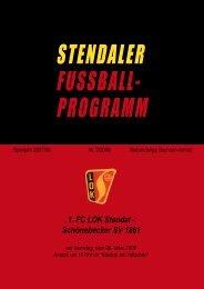 Programmheft 2007/2008 Ausgabe 2. - Rechtsanwalt Jens-P. Unnau