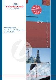 Emissionsprospekt Ermu Kalkavan Schiffseigentums GmbH & Co. KG