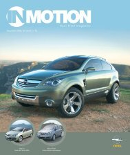 IN MOTION 15 FR - Opel
