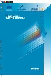 Governance e sviluppo territoriale - Formez