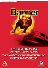 APPLICATION LIST - Motoral