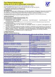 Tarifbestimmungen Landkreis Sömmerda (gültig ab 01.01.2013)