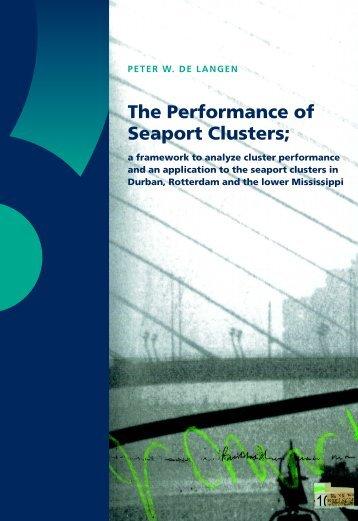 The Performance of Seaport Clusters - RePub - Erasmus Universiteit ...