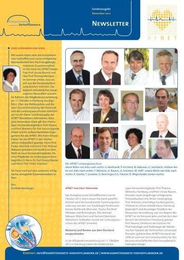 Newsletter Sonderausgabe November 2012 - Kompetenznetz ...