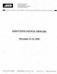 November 1995 - ASCD
