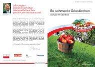 Download der Genussfibel Grieskirchen - Genussland Oberösterreich