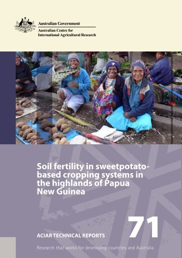 soil fertility in sweetpotato- based cropping systems in the highlands ...
