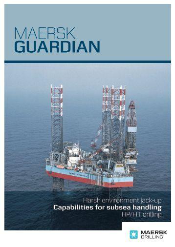 MAERSK guardian - Maersk Drilling