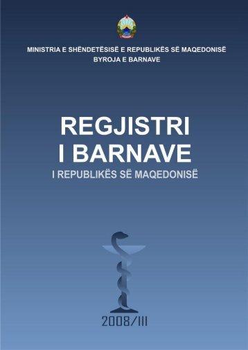 Përshkrimi skematik i barnave - Регистар на лекови
