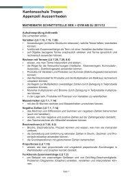 Kantonsschule Trogen Appenzell Ausserrhoden