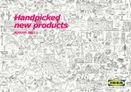 Handpicked new products - Ikea